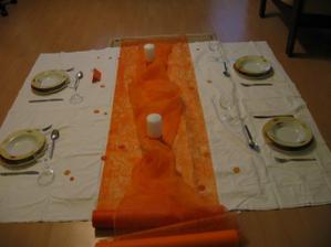 pokus o dekoraci stolu