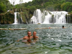 v národním parku Krka