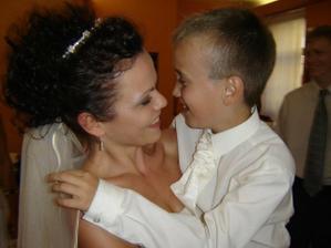 """Môj synček mi povedal nádhernú vetu: """"Mamička, dnes je môj najšťastnejší deň v živote!"""" To bolo to najkrajšie a najúprimnejšie, čo som mohla v svoj veľký Deň počuť... aj mi slzičky vyhrkli!"""