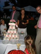 na krajeni dortu