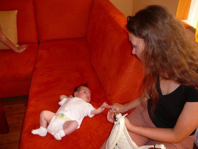 Monika a Milan - Suzit s drobcom
