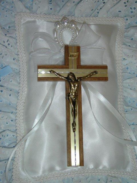 Monika a Milan - na tento krížik sme si prisahali lásku a vernosť
