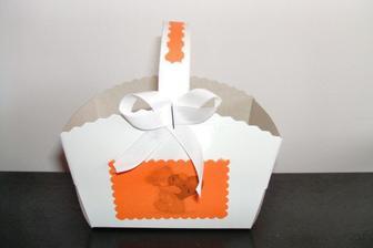 Takhle budou vypadat košíčky na výslužku..
