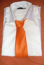 Ženichova košila s kravatou