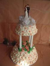 náš svatební dort - bez figorek