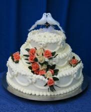 Podobnu torticku sme vybrali... Ale s postavickami a inymi ruzickami..To uz neplati :D
