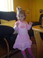 náš pokladík,družička...dcérka Bianka:-)