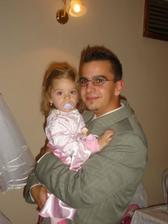 dcérka s mojím bratom