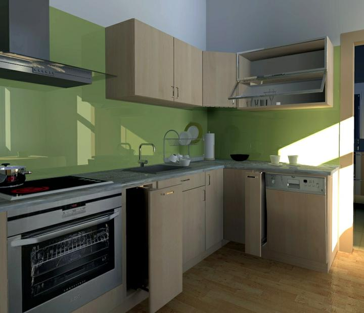 Kuchyne nielen do panelakovych bytov - Obrázok č. 20