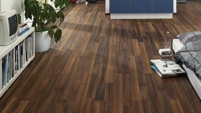 HARO laminatova podlaha Orech Comfort, vzor 2-lamela HARO Tritty 75
