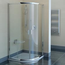 Ravak štvrtkruhový posuvný sprcháč