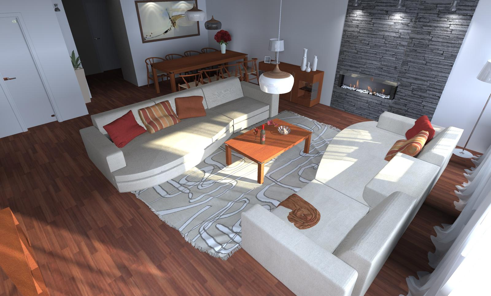 Povyberané na inspiráciu - sofa Molteni & C