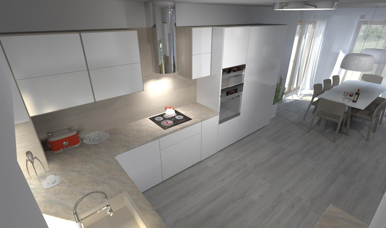 Kuchyne nielen do panelakovych bytov - Obrázok č. 38
