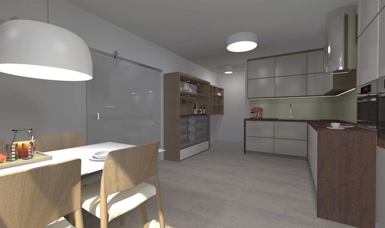 Kuchyne nielen do panelakovych bytov - Obrázok č. 40