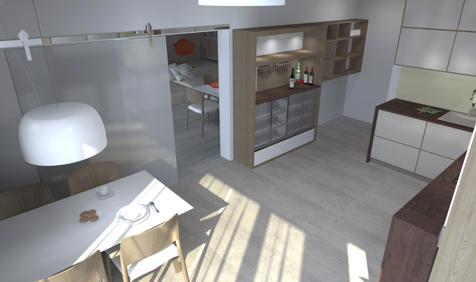Kuchyne nielen do panelakovych bytov - Obrázok č. 41