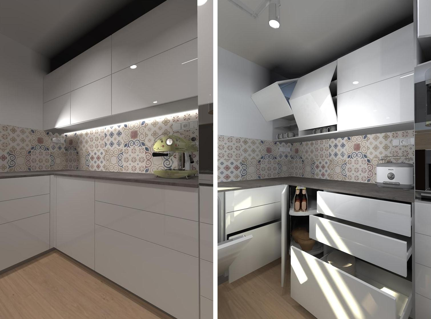 Kuchyne nielen do panelakovych bytov - Obrázok č. 46