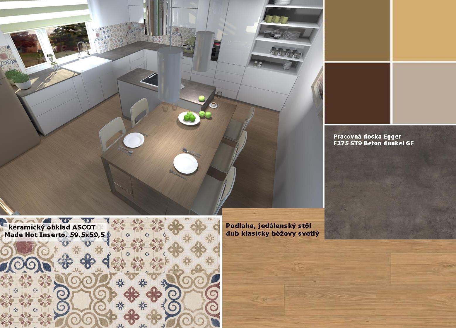 Kuchyne nielen do panelakovych bytov - Obrázok č. 47