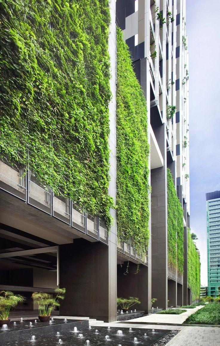 Zelene fasady - Bangkok
