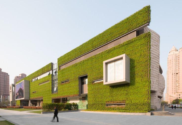 Zelene fasady - Gallery - Shanghai Natural History Museum