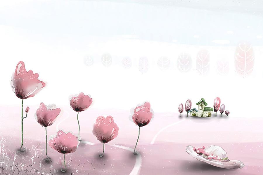 Detska - @Decotrend - ružová fantázia