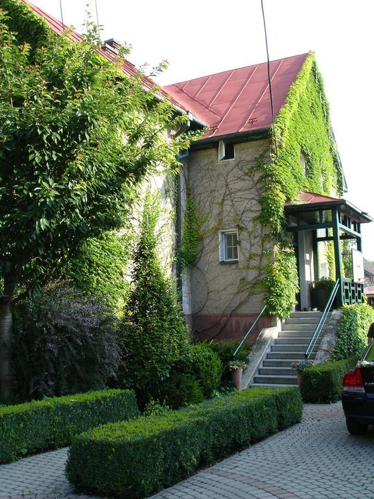 Zelene fasady - Ani argument, že zarastená stena vlhne, nie je na mieste. Rastliny vytvárajú ťažko priechodnú vrstvu pre dažďovú vodu. Dážď stečie po lístí a na fasádu sa vôbec nedostane. Vlhkosť nemá šancu aj vďaka odvetraniu a prúdiacemu vzduchu pod listami.
