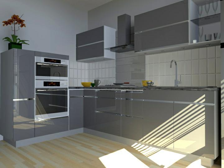 Kuchyne nielen do panelakovych bytov - farebne kombinacie