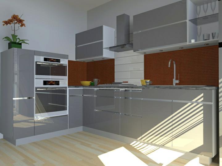 Kuchyne nielen do panelakovych bytov - Obrázok č. 2