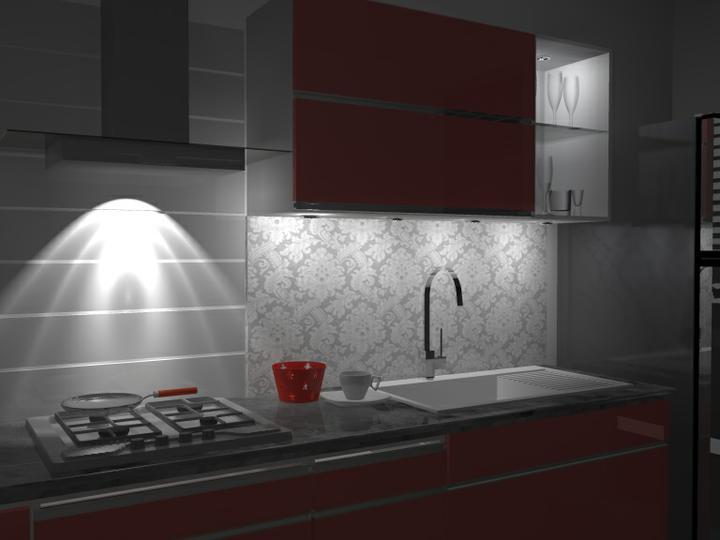 Kuchyne nielen do panelakovych bytov - nad varnou platnou musi byt pevny a odolny material, ktory zvladne teplotne vykyvy.