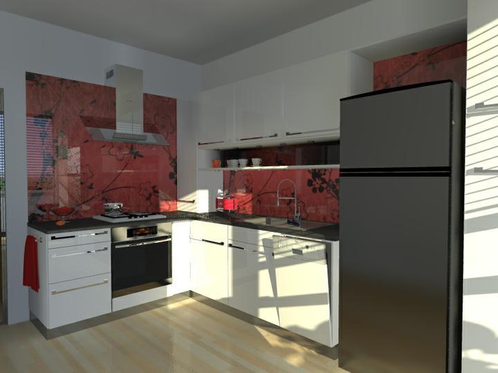 Kuchyne nielen do panelakovych bytov - tej chladnicky sa vsak nemienia vzdat