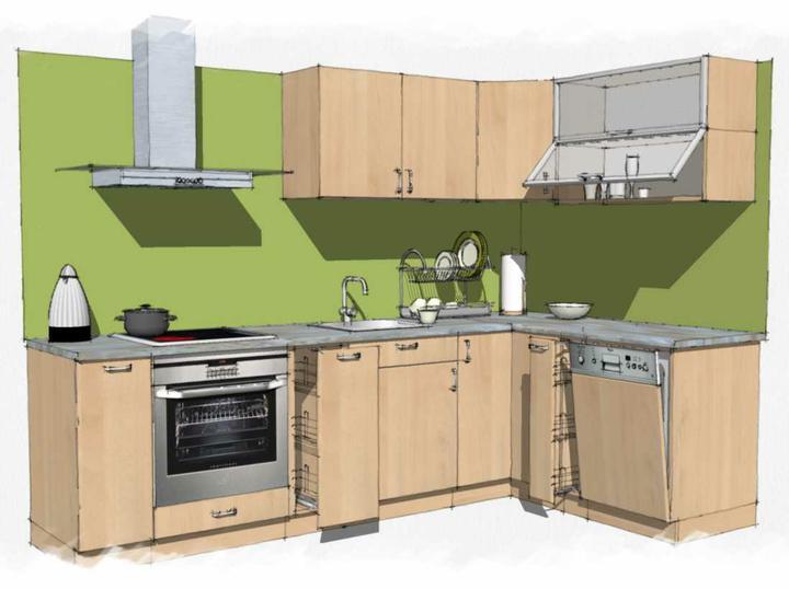 Kuchyne nielen do panelakovych bytov - iny byt, podobne poziadavky