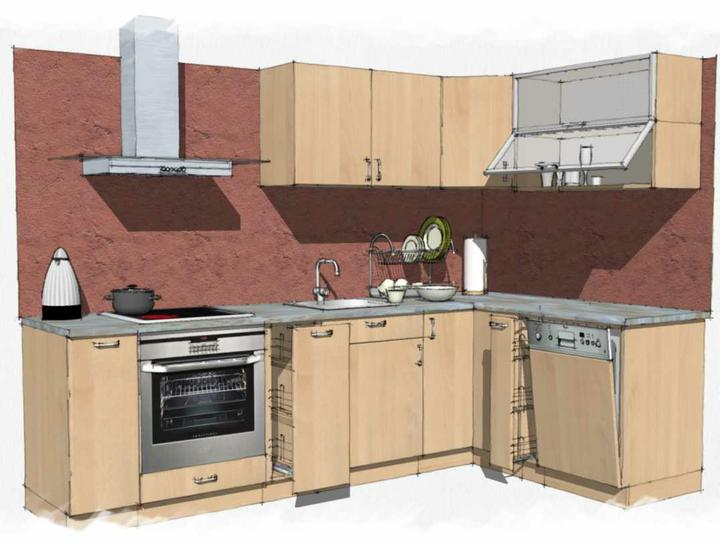 Kuchyne nielen do panelakovych bytov - Obrázok č. 22