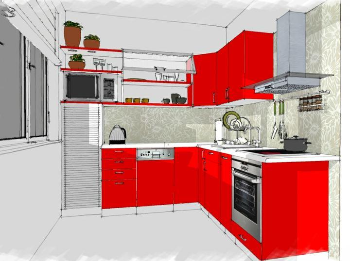 Kuchyne nielen do panelakovych bytov - Obrázok č. 32