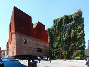 Fasády sú nápadné a vždy veľmi krásne (Madrid)