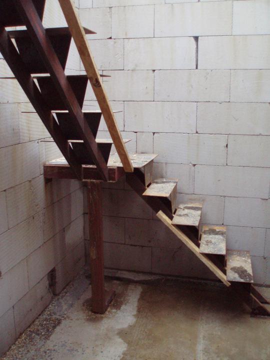 Plníme si náš sen - Zatiaľ nedokončené schody
