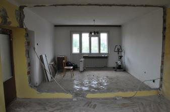 Budúca detská izba 50 m2  ...... vznikla spojením dvoch izieb
