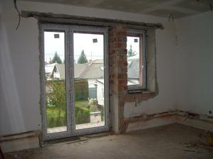detská izba - balkonove dvere so zámkom