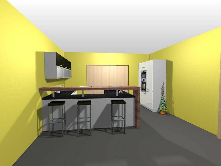 Vyberáme kuchyňu..... - Vizu ORESI  ... steny určitr žlté nebudú :o))