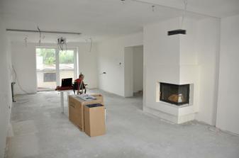 Obývačka s kuchynou