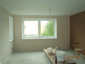 vymalovaná hosťovská izba
