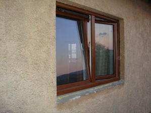 jedno z nových okien, okno do obývačky