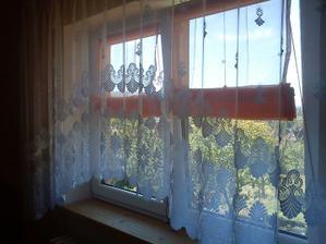 okno z obývačky