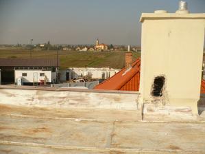 výhľad zo strechy