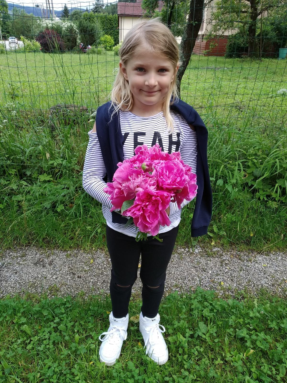 Babkina záhrada - Moje dievčatko:-)