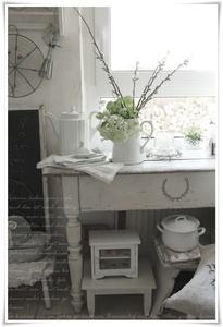 Drevo a biela v kuchyni - Obrázok č. 12
