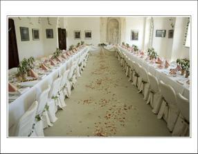 svatební tabule než prišli hosté..