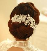 Romantická ozdoba do vlasov ,