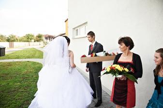 Čááááu :D Aneb úchvatné přivítání mého muže... :-/