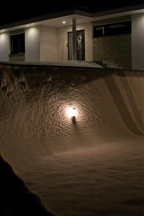 Sweet home :) - I opěrná zeď už nejde vidět :D