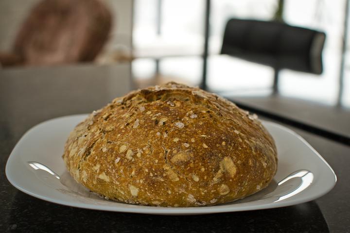 Sweet home :) - Můj první chlebík :)