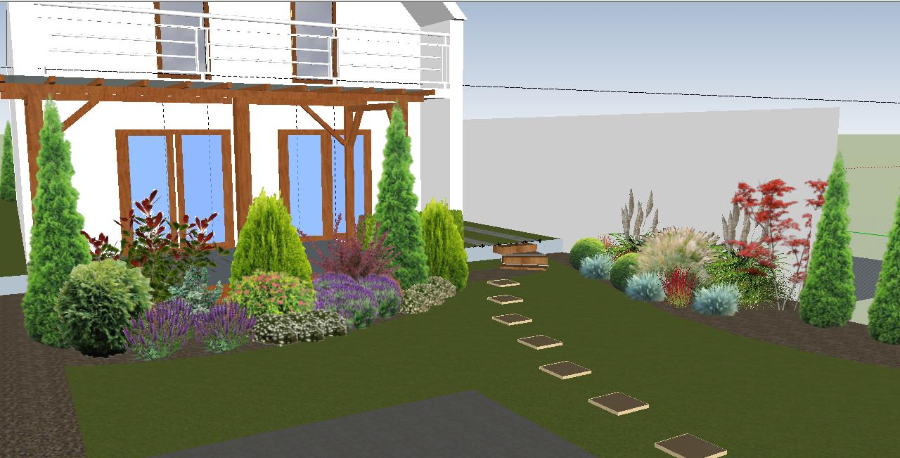 Záhrada plán a realizacia - Obrázok č. 1